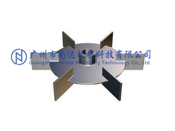平叶圆盘涡轮式搅拌器