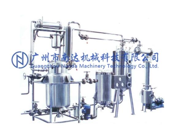 提取浓缩蒸馏机组