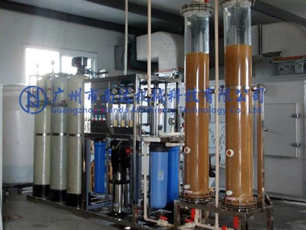 反渗透+树脂系统